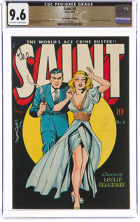 The Saint #4 The Promise Collection Pedigree (Avon, 1948) CGC NM+ 9.6 Off-white to white pages
