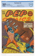 Golden Age (1938-1955):Humor, Pep Comics #22 (MLJ, 1941) CBCS GD/VG 3.0 Off-white pages....