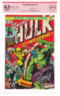 Bronze Age (1970-1979):Superhero, The Incredible Hulk #181 Verified Signature - Stan Lee (Marvel, 1974) CBCS VF+ 8.5 Off-white pages....