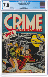 Crime Does Not Pay #33 (Lev Gleason, 1944) CGC FN/VF 7.0 Cream to off-white pages