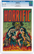 Golden Age (1938-1955):Horror, Horrific #1 (Comic Media, 1952) CGC FN 6.0 Cream to off-white pages....