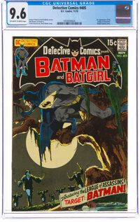 Detective Comics #405 (DC, 1970) CGC NM+ 9.6 Off-white to white pages