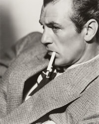 Clarence Sinclair Bull (American, 1895-1979) Gary Cooper, 1938 Gelatin silver, printed later 14-3