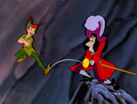 "Peter Pan ""Skull Rock"" Limited Edition Cel #330/500 (Walt Disney, 1953/1989)"