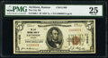 National Bank Notes:Kansas, Atchison, KS - $5 1929 Ty. 1 The City National Bank Ch. # 11405 PMG Very Fine 25.. ... (Total: 3 items)