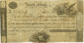 Large Size:War of 1812, United States - Act of December 26, 1814 $100 5-2/5% Treasury Note. Hessler X80C, Fr. TN-8. Unsigned Remainder. PMG Very Fine ...