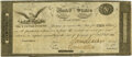 Large Size:War of 1812, United States - Act of February 24, 1815 $10 Treasury Note Hessler X83Cvar, Fr. TN-13a. Double-Signature Remainder. PMG Choice...