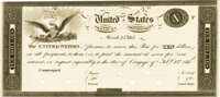 United States - Act of February 24, 1815 $10 Treasury Note. Hessler X83C, Fr. TN-14p. Proof. PMG Gem Uncirculated 65 EPQ...