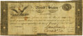 Large Size:War of 1812, United States - Act of February 24, 1815 $10 Treasury Note. Hessler X83C, Fr. TN-14a. Double-Signature Remainder. PMG Very Fin...