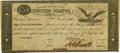 Large Size:War of 1812, United States - Act of February 24, 1815 $5 Treasury Note. Hessler X83B, Fr. TN-15a. Double-Signature-Remainder. PMG Extremely...