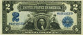 Large Size:Silver Certificates, Fr. 255 $2 1899 Silver Certificate PMG Choice Uncirculated 64.. ...