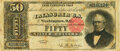 Large Size:Silver Certificates, Fr. 329 $50 1880 Silver Certificate PMG Choice Fine 15.. ...