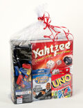 Movie/TV Memorabilia:Autographs and Signed Items, Game Night Gift Basket... (Total: 7 Items)