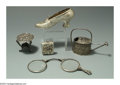 Silver Smalls:Other , A GROUP OF SILVER AND PLATED SMALLS