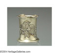 Silver Smalls:Other , AN AMERICAN SILVER AESTHETIC TOOTHPICK HOLDER