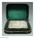 Silver Smalls:Other , AN ENGLISH SILVER VICTORIAN CALLING CARD CASE