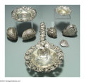 Silver Smalls:Other , A GROUP OF EIGHT AMERICAN SILVER STRAWBERRY MOTIF ITEMS