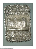 Silver Smalls:Other , AN ENGLISH SILVER CALLING CARD CASE