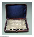 Silver Smalls:Other , AN ENGLISH VICTORIAN SILVER CALLING CARD CASE