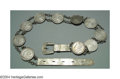 Silver Smalls:Other , AN AMERICAN MORGAN SILVER DOLLAR COIN BELT