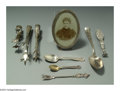Silver Flatware, American:Other , AN ASSORTED GROUP OF SILVER SERVING PIECESVarious makers