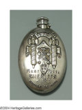 Silver Holloware, American:Flasks, AN AMERICAN SILVER PRESENTATION FLASK
