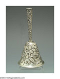 Silver Smalls:Other , AN AMERICAN SILVER REPOUSSE DINNER BELL