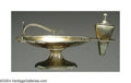 Silver Smalls:Cigar Lamps, AN AMERICAN SILVER CLASSICAL FORM CIGAR LAMP