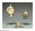 Silver Smalls:Cigar Lamps, A GROUP OF ENGLISH SILVER CIGAR LAMPS