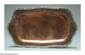 Silver Smalls:Other , AN AMERICAN MIXED METAL NAVAJO MOTIF TRAY