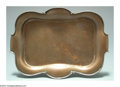 Silver Smalls:Other , AN AMERICAN MIXED METAL ATHENIC PATTERN TRAY