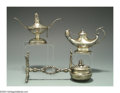 Silver Smalls:Cigar Lamps, A GROUP OF AMERICAN SILVER CIGAR LAMPS