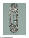 Silver Smalls:Buckles, AN AMERICAN SILVER ROCOCO STYLE LADY'S BUCKLE