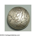 Silver Smalls:Other , AN AMERICAN SILVER HOMERIC PATTERN PILL BOX