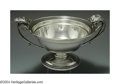 Silver Holloware, American:Bowls, AN AMERICAN SILVER AESTHETIC MOVEMENT BOWL