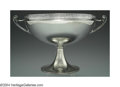 Silver Holloware, American:Boxes, AN AMERICAN SILVER EGYPTIAN REVIVAL BOWL
