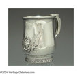 Silver Holloware, American:Cups, AN AMERICAN SILVER MEDALLION CUP