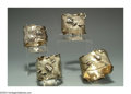 Silver Holloware, American:Napkin Rings, A GROUP OF FOUR AMERICAN SILVER AND SILVER-GILT AESTHETIC ... (4 )