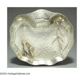 Silver Holloware, American:Bowls, AN AMERICAN SILVER AESTHETIC MOVEMENT JAPANESE STYLE BOWL