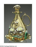 Silver Smalls:Vinaigrettes, A FINE AMERICAN SILVER-GILT AND ENAMEL AESTHETIC MOVEMENT ...