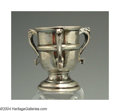 Silver Smalls:Other , AN ENGLISH SILVER MINIATURE TROPHY URN