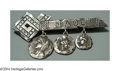 Silver Smalls:Other , A SILVER HOMERIC MEDALLION BROOCH