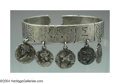 Silver Smalls:Other , AN AMERICAN SILVER HOMERIC MEDALLION BRACELET