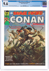 Savage Sword of Conan #1 (Marvel, 1974) CGC NM+ 9.6 Off-white to white pages