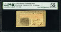 Colonial Notes:New Jersey, John Hart Signed New Jersey March 25, 1776 15s PMG About Uncirculated 55.. ...
