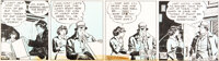 Milton Caniff Terry and the Pirates Daily Comic Strip Original Art dated 3-19-37 (Chicago Tribune/NY News Syndicat