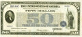 """United States - Act of April 4, 1917 """"First Liberty Loan of 1917"""" $50 3 1/2% Bond of 1932-1947 June 15, 1917..."""