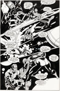 Original Comic Art:Story Page, Gil Kane, Sal Buscema, and others Web of Spider-Man Annual #6 Story Page 21 Original Art (Ma...