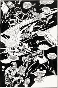 Gil Kane, Sal Buscema, and others Web of Spider-Man Annual #6 Story Page 21 Original Art (Marvel, 1990)