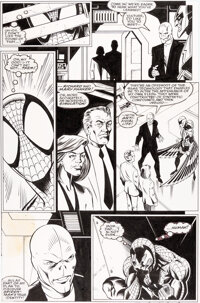 Mark Bagley and Randy Emberlin Amazing Spider-Man #388 Story Page 10 Original Art (Marvel, 1994)